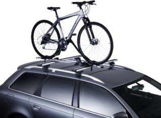 Dachfahrradträger auf Auto